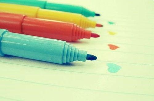 小清新图片:那些年,这几种颜色让人心情快乐