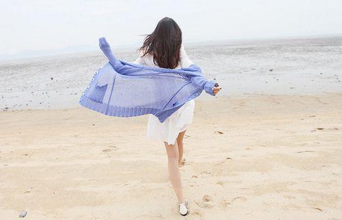 唯美图片:奔跑吧,女子