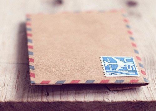 唯美图片:写一封信,给远方的你
