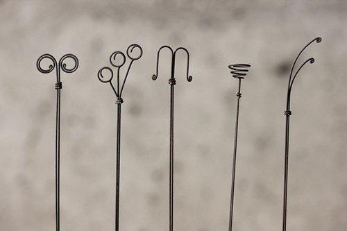 创意图片:小小铁丝的童话世界
