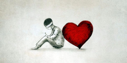 爱情文章:我该怎么面对你,我的爱情