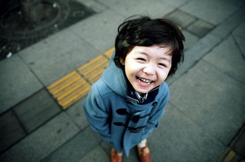 治愈系图片:每一个孩子都是治愈系