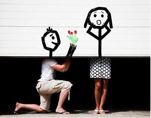 创意图片:错位的美