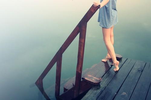 唯美图片:踮起脚尖,仰望幸福