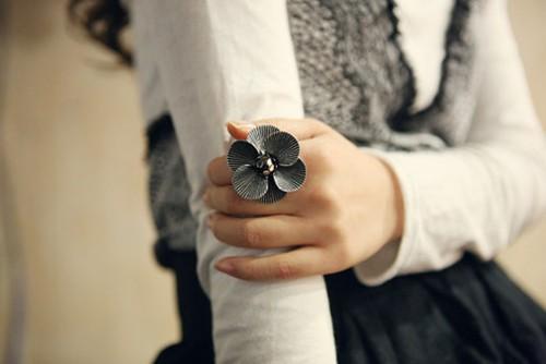 小清新图片:一组关于戒指的唯美图片