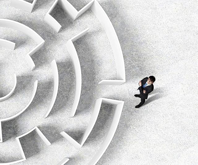 人生像迷宫:上半生寻找入口,下半生寻找出口