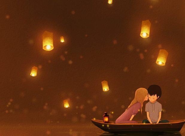 10条带图片的QQ空间唯美爱情语录句子